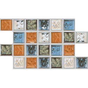 """Azulejo Savane Preciosa 31x54cm Brilhante Bold Coral Classe """"A"""""""