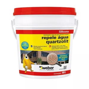 Silicone Quartzolit Repele Água 18L 306190235062