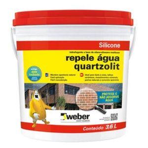 Silicone Quartzolit Repele Água 3,6L