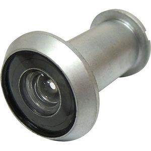 Olho Mágico Bemfixa 180° Zamak Cromado Fosco