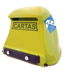 Caixa de Correspondência JLK Plásticos PVC Amarela
