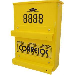 Caixa de Correspondência Correios Florini PVC Amarela