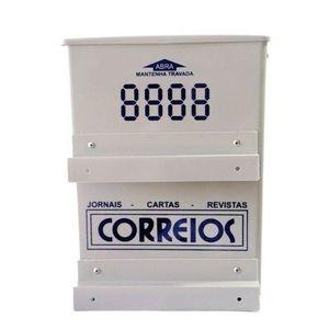 Caixa de Correspondência Correios Florini PVC Cinza
