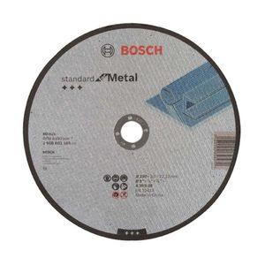 Disco de Corte Bosch para Metal Standard 230x3mm Grão 30