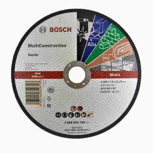 Disco de Corte Bosch Multimateriais 115x1mm Grão 60