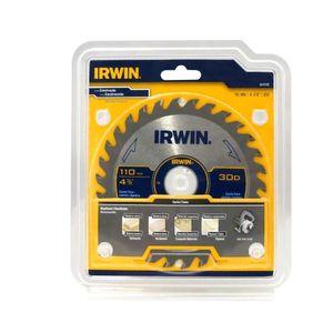 Disco de Serra Irwin 110mm 30 Dentes