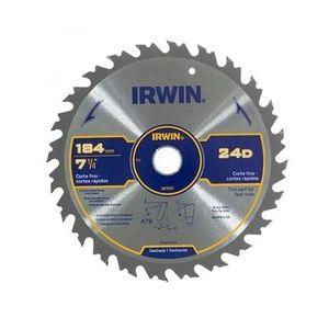 Disco de Serra Irwin 184mm 24 Dentes