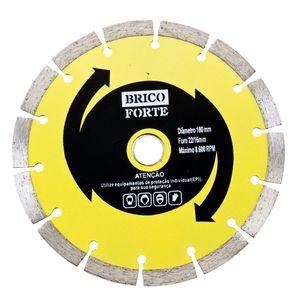 Disco Diamantado Segmentado Brico Forte 180mm ZH-CBJ110/A