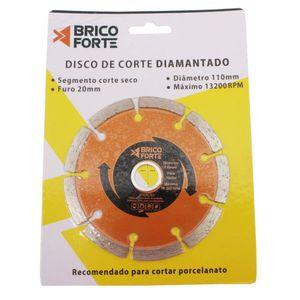Disco Diamantado Segmentado Brico Forte 110mm ZH-CG02D