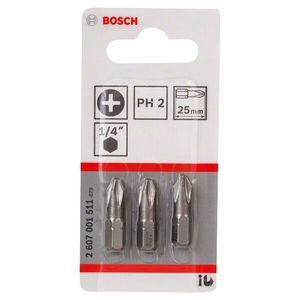 Jogo de Pontas Bosch Phillips Nº2 3 Peças