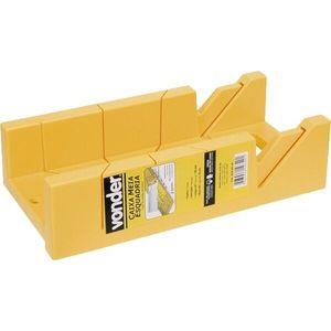 Caixa Meia Esquadria PVC Vonder Amarela
