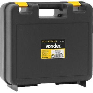 Caixa Plástica para Furadeira Vonder VD-6002 Preta