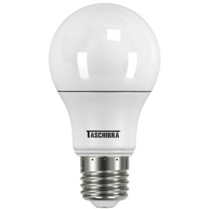 Lâmpada LED Bulbo Taschibra A60 4,9W E27 Luz Amarela