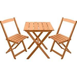 Conjunto Mesa e Cadeiras 3 Peças Metalnew Orquídea