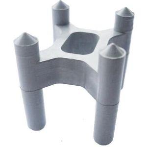 Espaçador Plaspérola Cadeira 15mm a 25mm 100 Peças