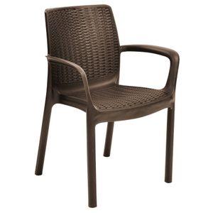 Poltrona Keter Bali Chair Marrom