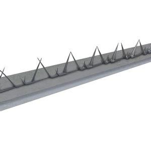 Kit Protetor Perimetral Galvanizado 10,5cmx1,2m Metálico Calha Forte