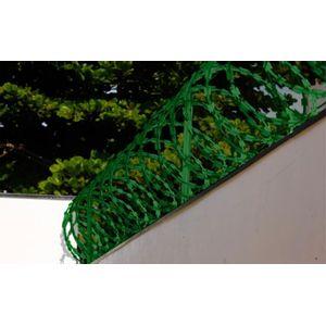 Kit Protetor Perimetral Galvanizado 45cmx5m Verde Calha Forte