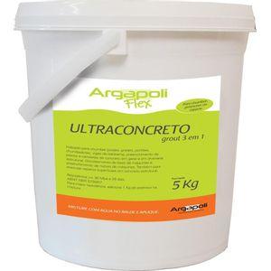 Concreto 5kg Ultraconcreto Grout 3 em 1 Argapoli