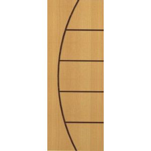 Porta de Abrir Madeira Curupixá Pinhal PI001 2,1x0,8m