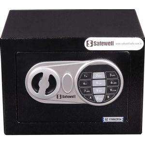 Cofre Eletrônico Digital Burglary Safe EF 17x23cm Safewell