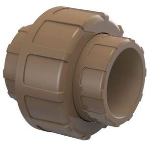 União Soldável Tigre 20mm PVC Marrom