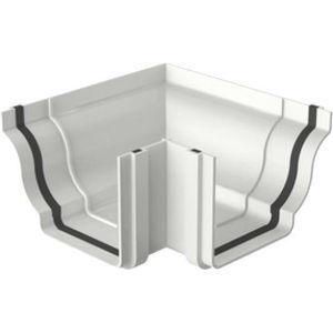 Esquadro Externo PVC Tigre Aquapluv Style 132x89mm Branco