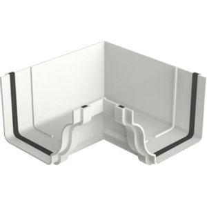Esquadro Interno PVC Tigre Aquapluv Style 132x89mm Branco