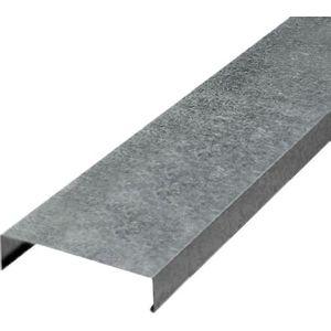 Rufo Galvanizado Calha Forte Capa 2m para Muro 17cm Natural
