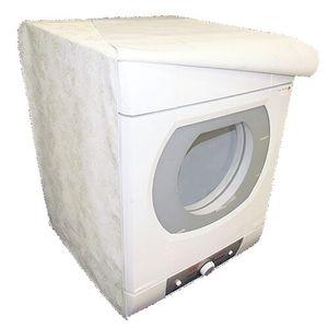 Capa para Máquina de Lavar Isopasse Abertura Frontal Branca
