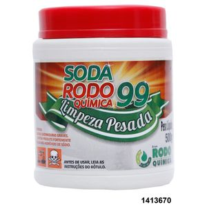 Soda Caústica Rodo Química 500g