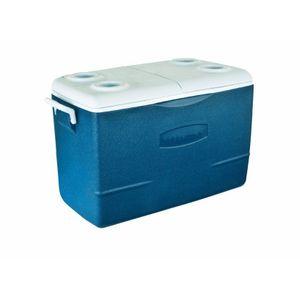 Caixa Térmica Rubbermaid 47L Azul