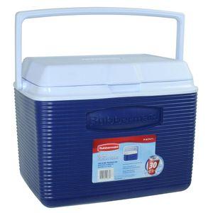 Caixa Térmica Rubbermaid 22,7L Azul