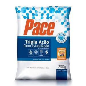 Cloro Orgânico Pace HTH Tripla Ação 200g