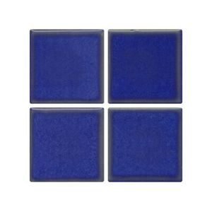 Pastilha de Porcelana Jatobá JD4810 2,5x2,5cm Azul Viscaya