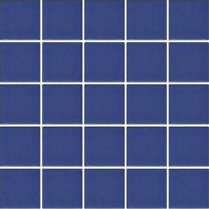 Pastilha de Porcelana Jatobá JD4810 5x5cm Azul Viscaya