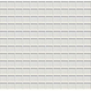 Pastilha de Porcelana Jatobá JC1100 2,5x2,5cm Branco Aspen