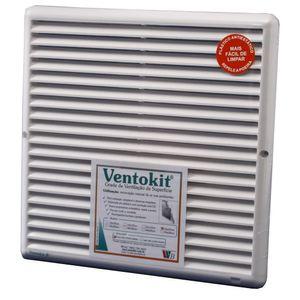 Grade de Ventilação 25x25cm Westaflex Quadrada com Tela
