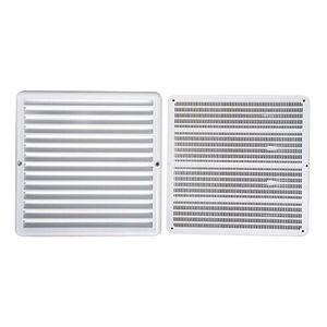 Grade de Ventilação 25x25cm ITC Quadrada com Tela