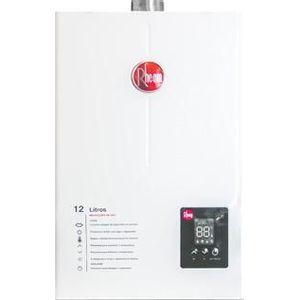 Aquecedor de Água a Gás GLP Rheem Digital 12L/min Branco Prestige
