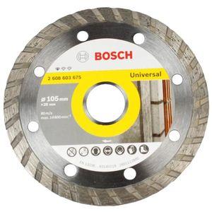 Disco Diamantado Turbo Bosch Standard 105mm