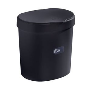 Lixeira Brinox Coza 2,5L Preta
