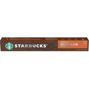 Starbucks Nespresso House Blend Lungo 10 Cápsulas
