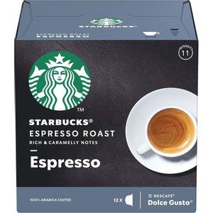 Starbucks Dolce Gusto Espresso Roast 12 Cápsulas