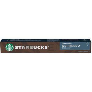 Starbucks Nespresso Espresso Roast 10 Cápsulas
