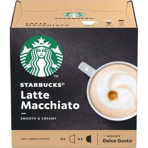 Starbucks Dolce Gusto Latte Macchiato 12 Cápsulas