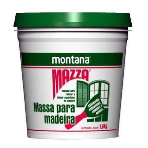 Massa para Madeira Montana 1,6kg Branca