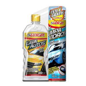 Detergente Lava Autos com Cera 500ml Luxcar