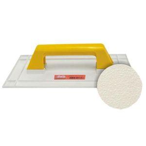Desempenadeira Plástica Metasul Lisa para Grafiato 14x27cm