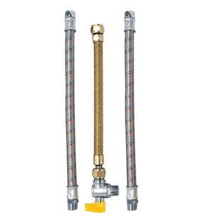 """Kit Instalação para Aquecedor a Gás 1/2"""" 40cm Jackwal"""